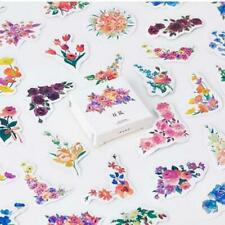 45pcs/pack Creative Flowers Decorative Diy Diary Stickers Kawaii Planner Scrapbo