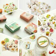 Kawaii Boxed Flowers Stickers Cute Cat Planner Scrapbooking Stationery Japanese