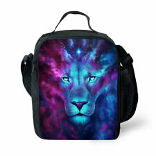 Kids Insulated Lunch Tote Backpack Cooler Food Picnic Box Bag for Boys Girls