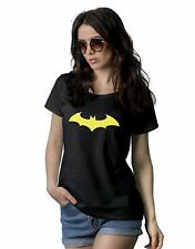Bat Black Tee Shirt Women - Adult Novelty Short Sleeve Womens Graphic T Shirts