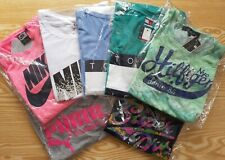 NIKE,NIKE AIR,PUMA CLASS,SUPERDRY T Shirt Ladies Women Top white pink blue grey