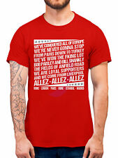 Liverpool Shirt Champions Europe Allez Anthem Chant Song 2019 6 Times Winners