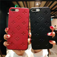 Soft TPU Flower Pattern Leather Case Cover For iPhone 6S 78 Plus X XS Max XR LV5