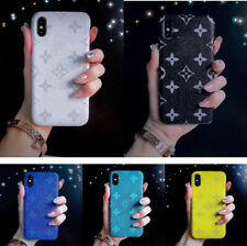 Luxury Classic Flower Pattern Case Cover For iPhone 66S 78 Plus X XS Max XR LV55