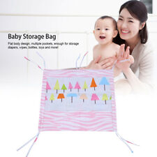 Baby Newborn Bed Hanging Storage Bag Toy Organizer Crib Diaper Bedside Pocket