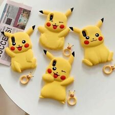 3D Cute Pokemon Pikachu Soft Silicone Phone Case Cover For Apple iPhone 6-XS Max