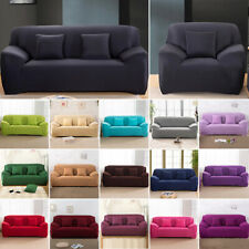 1 2 3 4 Seater Stretch Sofa Covers Protector Couch Cover Slipcover 23 Colors
