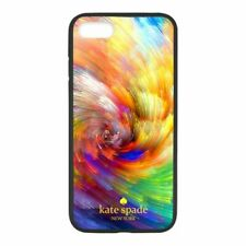 Kate Spade Abstract Rainbow Colorful Luxury For iPhone 8/SE/X/XR/XS/XS Max Case