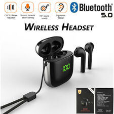 TWS Wireless Headset Earphone Earbuds Bluetooth Stereo IPX5 CVC3.0 In-Ear WK60