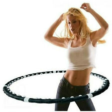 Weighted Hula Hoop for Fitness Exercise Gym
