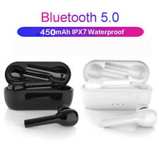 Tws W8 True Wireless Bluetooth 5.0 Earbuds Headset Hifi Stereo With Charging Box