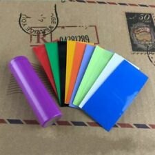 Colorful AAA Battery Sleeve Width 17mm Length 46mm PVC Heat Shrink Tubing Wrap