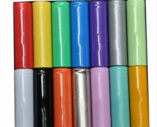 Colorful AA Battery Sleeve Length 53mm Width 23mm PVC Heat Shrink Tubing Wraps