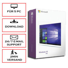 Windows 10 Home/Professional 1/5PC - 32&64 Bits - ESD - Blitzversand per Email