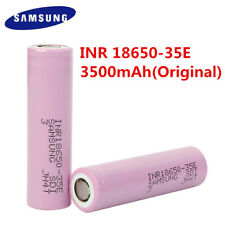 lot NEW 2-50PCS SAMSUNG INR18650-35E RECHARGEABLE BATTERY 3.6V 3500mAh Li-Ion