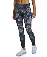 Nike Epic Lux  Floral Women's Running Tights Sizes Small / Med - AH8174 081