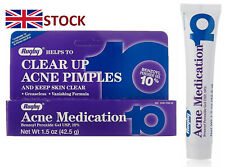 Rugby 10%  benzoyl peroxide acne medication pimple,spots, blackhead