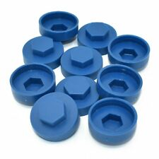 "TEK SCREWS 200 green 5//16/"" HEXAGONAL TEK TEC TECH SCREW COVER CAPS  FIT 8mm"