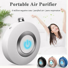 Personal Wearable Air Purifier Necklace Mini Portable Air Freshner Neclace USA