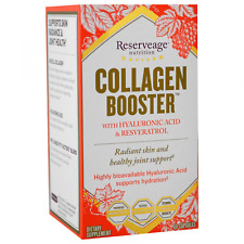 ReserveAge Nutrition Collagen Booster Hyaluronic Acid & Resveratrol 60 Capsules