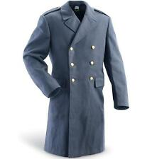 SWEDISH WOOL DOUBLE BREASTED TRENCH PEACOAT OVER-COAT REEFER MILITARY ARMY