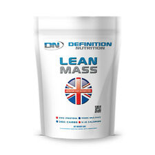 Definition Nutrition Lean Mass Weight Gainer 3kg Protein Powder 1 Month