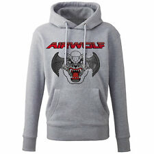 AIRWOLF RETRO Distressed HOODIE TV STREETHAWK Thundercats 80s TV Mens Top Gun