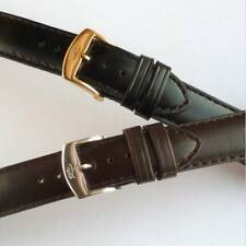Extra Extra Long Leather Watch Strap Black Brown