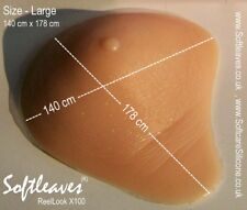 Softleaves ReelLook  asymmetrical Silicone Breasts Forms   Breast  Bra Inserts