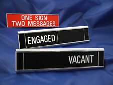 Sliding Signs - Engaged / Vacant - Entry Control System