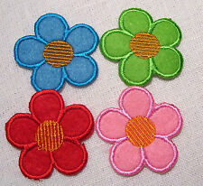 ECUSSON PATCH thermocollant - FLEUR 5 Pétales 43mm - Coloris au choix
