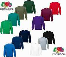 Fruit of the Loom Raglan Sweatshirt Größe S M L XL XXL  2XL