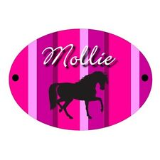 Horse Personalised Stable Door Plaque | Sign | Plate | Pony