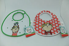 Charlie and Lola 'Lola' Bibs - 2 designs to choose from ! BNWT