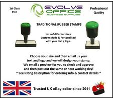 PERSONALISED/CUSTOMISED RUBBER STAMP ADDRESS, BUSINESS, SCHOOL, GARAGE, SHOP etc