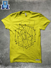 T-SHIRT POINT MAN NERD HIPSTER GRAFICO WHY SO HAPPINESS H