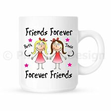 Personalised Best Friends Forever Birthday Christmas Ceramic Mug | Cup Gift