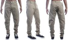 NEW MENS ETO BEIGE COLOURED TWISTED CHINO STYLE JEANS. *ABSOLUTE BARGAIN PRICE*