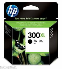 HP No 300XL Black Original Original OEM Inkjet Cartridge CC641EE Deskjet Printer
