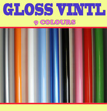 【GLOSS】Vehicle Wrap Vinyl Sticker 1.52 Meter x 0.5 Meter Air /bubble Free