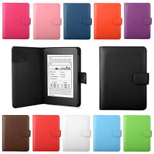 PU LEATHER CASE COVER FOR KINDLE PAPERWHITE WI-FI or 3G - AUTO WAKE/SLEEP