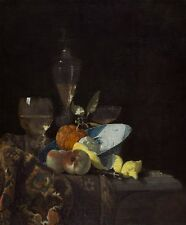 Still Life Willem Kalf Art Photo/Poster Repro Print Many Sizes  A0/85cm/36""