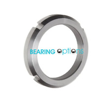 BEARING OPTIONS KM SERIES STAINLESS STEEL  LOCKNUTS (LOCK-WASHER-TYPE)