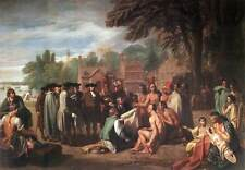 Photo Print The Treaty of Penn with the Indians West, Benjamin - in various size