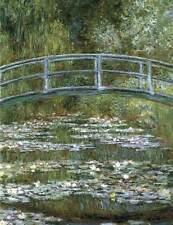 Photo Print Bridge over a Pond of Water Lilies Monet, Claude - in various sizes