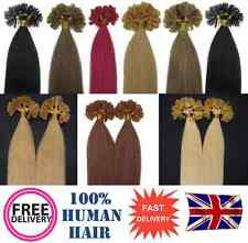 "200s Pre Bonded Nail Tip 100% Remy Human Hair Extensions 16"", 6A QUALITY"