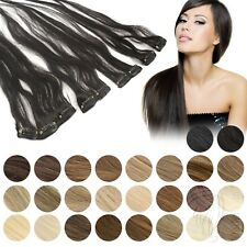 Clip In Extensions 45 g Clip On Haarteile 45 cm 60 cm Indisches Remy Echthaar