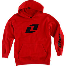ONE INDUSTRIES YOUTH KIDS ICON PO HOODY RED PULLOVER HOODIE CHEAP MX BOYS NEW