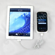 Portable QI Wireless + USB Charger Power Pack S3 S4 Note 2 II iPhone iPad Nexus