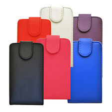 New 6 Colour Synthetic Leather Flip Case Cover For Nokia Lumia 520 Mobile Phone